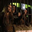 Barry Pepper and Sabine Karsenti in Warner Brothers' Battlefield Earth - 2000