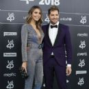 David Bisbal and Rosanna Zanetti– LOS40 Music Awards 2018 - 454 x 681
