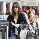 Priyanka Chopra at LAX International Airport in Los Angeles - 454 x 569