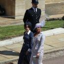 Priyanka Chopra and  Abigail Spencer :  Prince Harry Marries Ms. Meghan Markle - Windsor Castle - 400 x 600