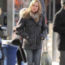 Kaylee DeFer on the set of 'Gossip Girl' in New York, 04.02.2011