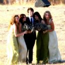 Rachel Bilson - Jill Stonerock's Wedding With Josh Schwartz (Creator Of The O.C & Gossip Girl) In Santa Barbara