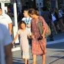 Halle Berry takes her daughter Nahla Aubry to the Grove in Los Angeles, California on June 17, 2016 - 454 x 549