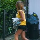 Caroline Flack – Leaving her house in London - 454 x 680