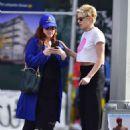 Kristen Stewart with friend out in New York City - 454 x 639