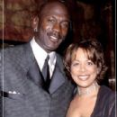 Michael Jordan and Juanita Vanoy - 300 x 400