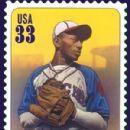 Satchel Paige Postage Stamp - 300 x 379