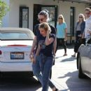 Emma Roberts and Evan Peters out in Malibu