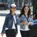 Jenna Dewan and Emmanuelle Chriqui – Out in Studio City