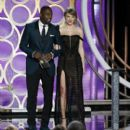 Idris Elba and Taylor Swift : 76th Annual Golden Globe Awards - Show