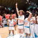 "Jay Phillips (left) as ""Scootsie Doubleday"" celebrates on the court with Will Ferrell (center) as ""Jackie Moon"" and the rest of their Flint Tropics teammates in New Line Cinema's comedy, SEMI-PRO. Photo Credit: Frank Masi/New - 454 x 319"
