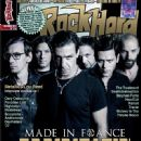 Till Lindemann, Richard Kruspe, Oliver Riedel, Christoph Schneider - Rock Hard Magazine Cover [France] (December 2011)