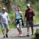Lea Michele – Goes for a hike in LA - 454 x 305