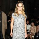 Bar Refaeli at the Marchesa Fall 2012 Fashion Show