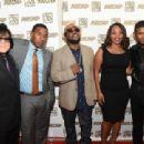 "Recording artist Usher Raymond onstage at the ASCAP Rhythm And Soul 3rd Annual Atlanta Legends Dinner Honoring Antonio ""L.A."" Reid at Mandarin Oriental Hotel on September 25, 2014 in Atlanta, Georgia"