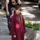 Alicia Vikander – Filming 'The Earthquake Bird' in Tokyo - 454 x 732