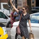 Rachel Weisz out in New York City on August 27, 2016