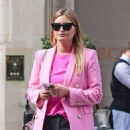 Holly Valance – In a pink blazer out in London - 454 x 609