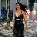 Adriana Lima – Leaving a Victoria's Secret Photoshoot in NYC 9/7/2016