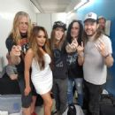 Suzanne Le and Sebastian Bach with Children Of Bodom - 454 x 454
