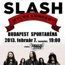 Slash feat Myles Kennedy - Feb 7, 2013, Budapest, Hungary