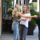 Audrina Patridge and Stephanie Pratt – Filming 'The Hills: New Beginnings' in Beverly Hills - 454 x 681