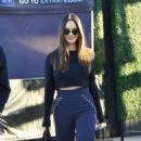 Olivia Munn – Visits 'Extra' at Universal Studios Hollywood in LA - 454 x 782