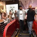 Usain Bolt Visits The PUMA Lab Powered By Foot Locker In NYC