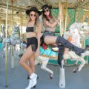 Victoria Justice and Madison Reed - #REVOLVEfestival Day 1 - 454 x 320