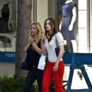 Emmy Rossum Shopping On The Upper East Side, New York City 2008-05-28