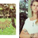 Renata Kuerten - Estela Geromini Summer Jewelry Campaign 2014 - 454 x 271