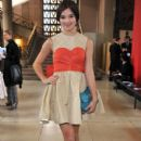 Hailee Steinfled attended the Miu Miu Fashion Show in Paris, France today, October 5
