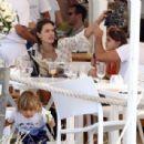 Alessandra Ambrosio and Jamie Mazur Boating While in Ibiza 7/3/2016