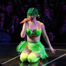Katy Perry Performing On Her Prismatic Tour In Amsterdam