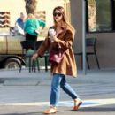 Jessica Alba – On a coffee run in Palm Springs - 454 x 303