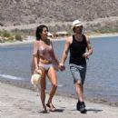 Nikki Reed in Bikini at a beach in Mexico - 454 x 491