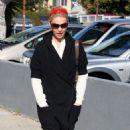 Katherine Heigl - Leaves A Restaurant In Hollywood - Dec 23