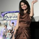 Selena Gomez - Poses during a fan meeting in Tokyo for a special preview of the first episode of 'Wizards of Waverly Place' Feb 21, 2011