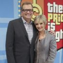 Florence Henderson With Drew Carey On The Price Is Right