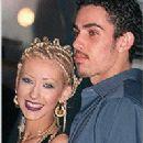 Christina Aguilera and Jorge Santos - 198 x 272