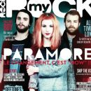 Hayley Williams, Jeremy Davis, Taylor York - My Rock Magazine Cover [France] (April 2013)