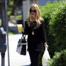 Rachel Zoe: stopped for some lemonade in West Hollywood