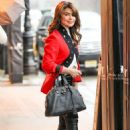 Paula Abdul out in New York City - 454 x 681