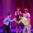 Nick Jonas and Corbin Bleu performed in the Hollywood Bowl production of Hairspray last night, August 5, in Los Angeles. The special performance will run through tomorrow, August 7 - 414 x 600