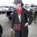 Evan Rachel Wood at LAX Airport in Los Angeles - 454 x 741