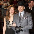 Robert Downey, Jr. and Susan Levin - 454 x 479