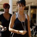 Rihanna Leaving Fred Segal's After Shopping - Feb 7 2008