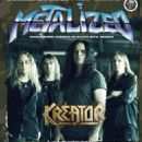 Kreator - Metalized Magazine Cover [Denmark] (February 2017)
