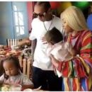 Blac Chyna and Tyga Throw King Cairo a 5th Birthday Party at Six Flags Magic Mountain in Los Angeles, California - October 14, 2017 - 454 x 386