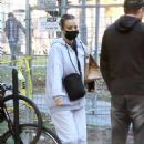 Kaley Cuoco – On the set of her new movie 'The Man From Toronto' in Toronto